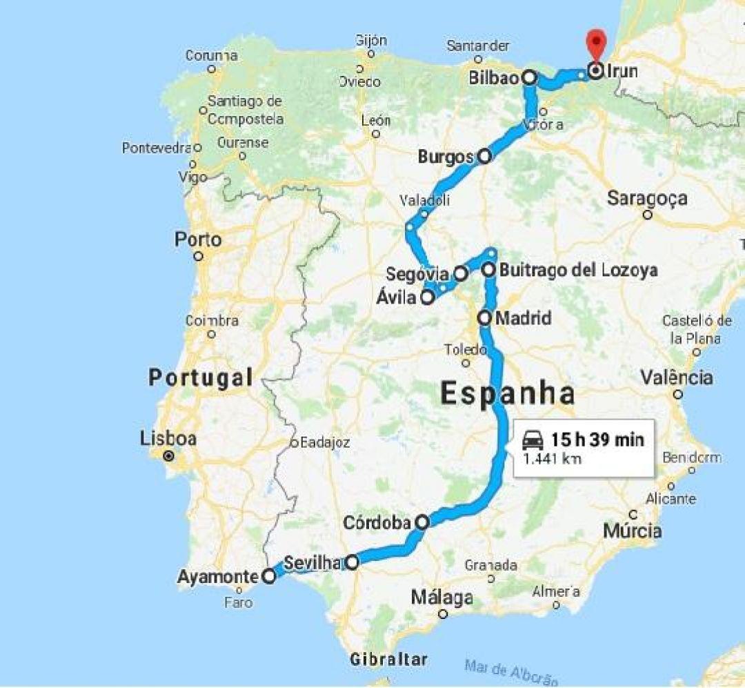 Espanha Dados Tecnicos Viajando E Correndo